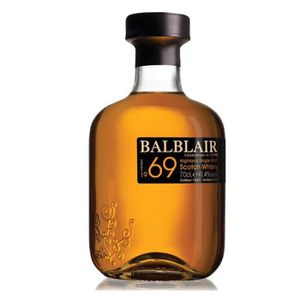 WHISKY BOURBON SCOTCH Balblair Vintage 1969 70 cl whisky