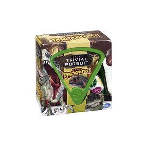 JEU SOCIÉTÉ - PLATEAU Trivial Pursuit The World Of Dinsoaurs