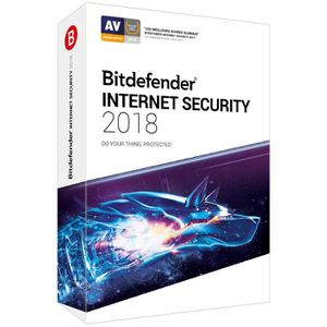 ANTIVIRUS BITDEFENDER Internet Security 2018 - 2 ans - 5 PC