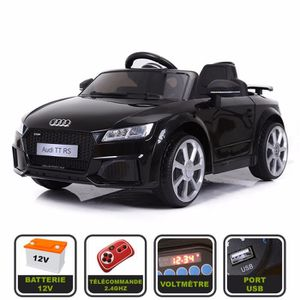 VOITURE ELECTRIQUE ENFANT Voiture de sport électrique 12V pour enfant Audi T
