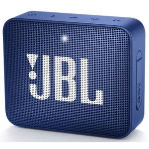 ENCEINTE NOMADE Enceintes nomades JBL - GO 2 BLUE • Enceinte sans