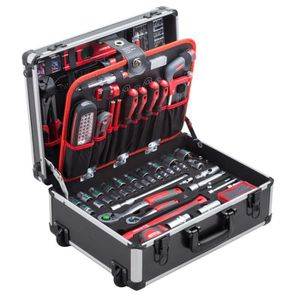 PACK OUTIL A MAIN MEISTER Trolley à outils 156 pièces  8971440
