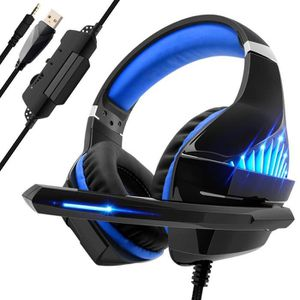 CASQUE AVEC MICROPHONE Beexcellent Casque Gaming pour PS4 Xbox One, Casqu