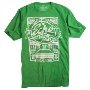 T-SHIRT T-Shirt ECKO UNLTD Hater Proof Kelly Green