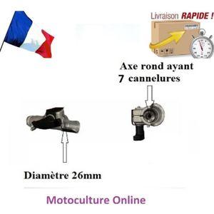 DÉBROUSSAILLEUSE  Palier d'emboitement débroussailleuse 26 mm  axe r