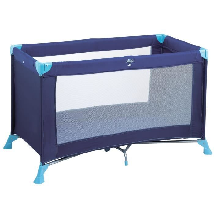 babideal lit parapluie kompak bleu bleu achat vente lit pliant 3220660084784 cdiscount. Black Bedroom Furniture Sets. Home Design Ideas