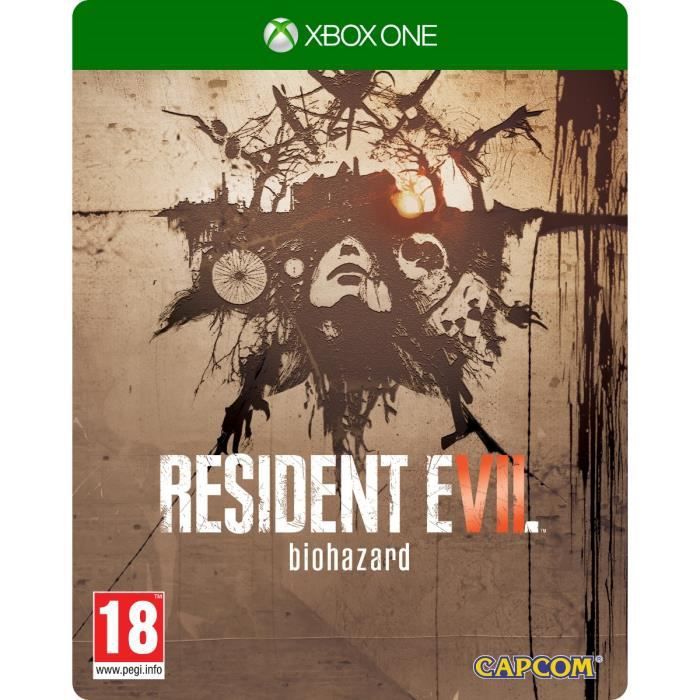 Resident Evil 7 Edition Steelbook Jeu Xbox One