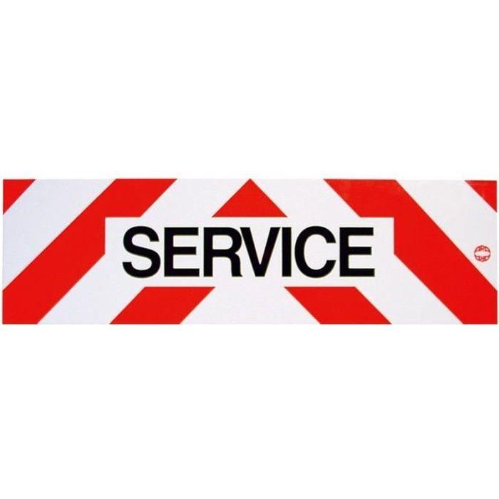 Panneau Service Adhésif