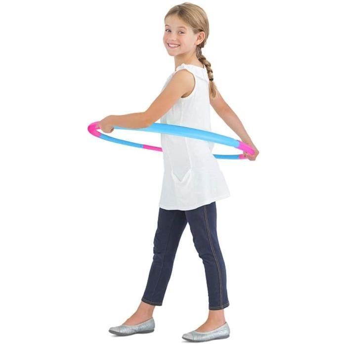 Hula Hoop pour enfants, Hula Hoops Kids Poids et taille réglable Jouets de sport détachables