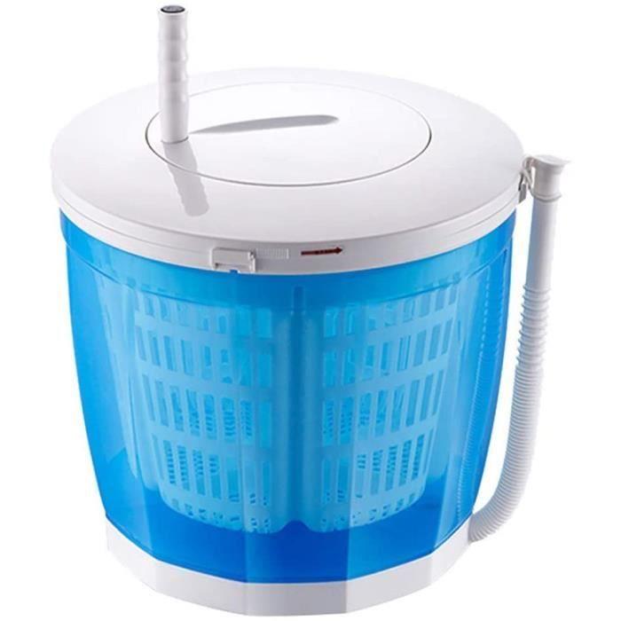 LAVE LINGE Mini Lave-Linge, Lave-Linge Eco Portable Washer, Lavage Manuel, Grande capacit&eacute de 2 litres, Nettoyage, rin&cc1489