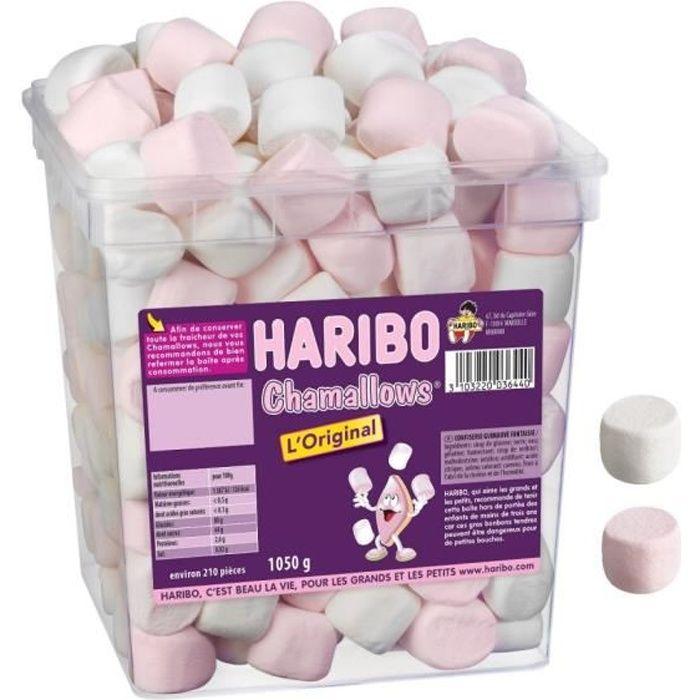 HARIBO CHAMALLOWS L'ORIGINAL 210 BONBONS