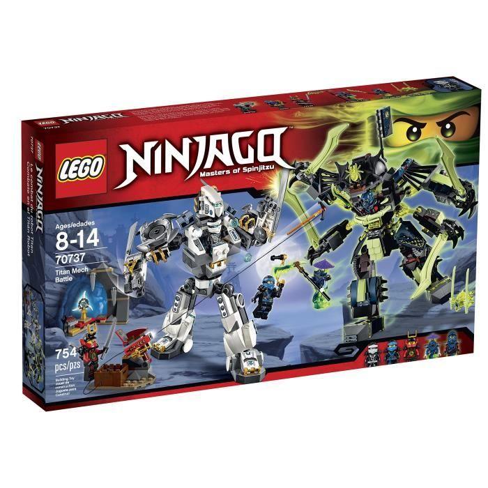 LEGO Ninjago 70737 Titan Mech bataille Kit de construction FWDLQ