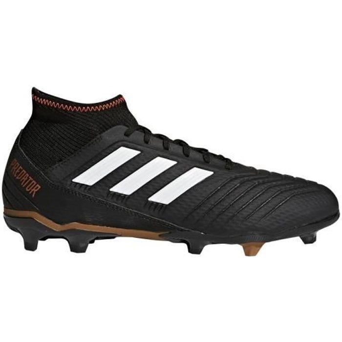 ADIDAS Chaussures de football Predator 18.3 Fg - Mixte - Noir