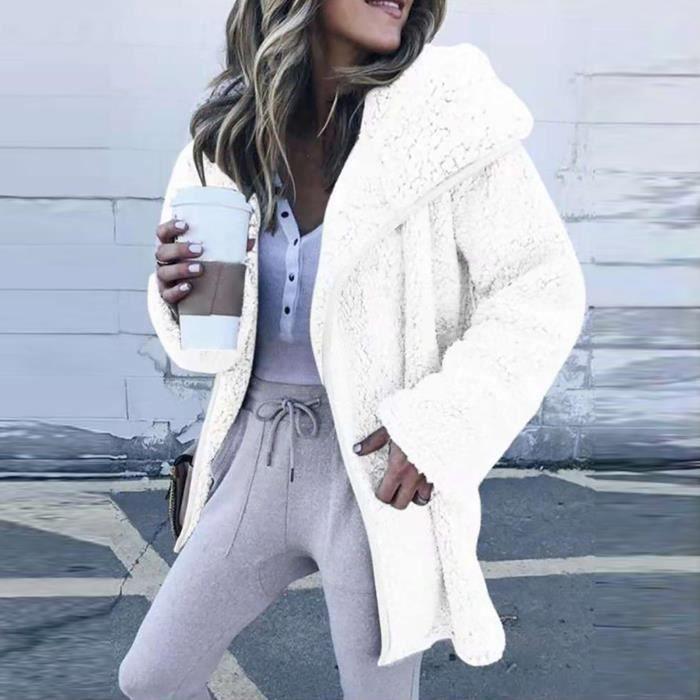Femmes hiver à manches longues Hoodies Cardigan pull veste décontractée manteauXWP201110013