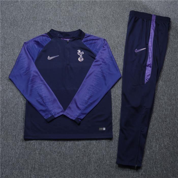 Maillot Tottenham Hotspur - Maillot de Foot Enfants Homme 2019-20 Ensemble Survêtement Jogging Vêtements Maillot de Football