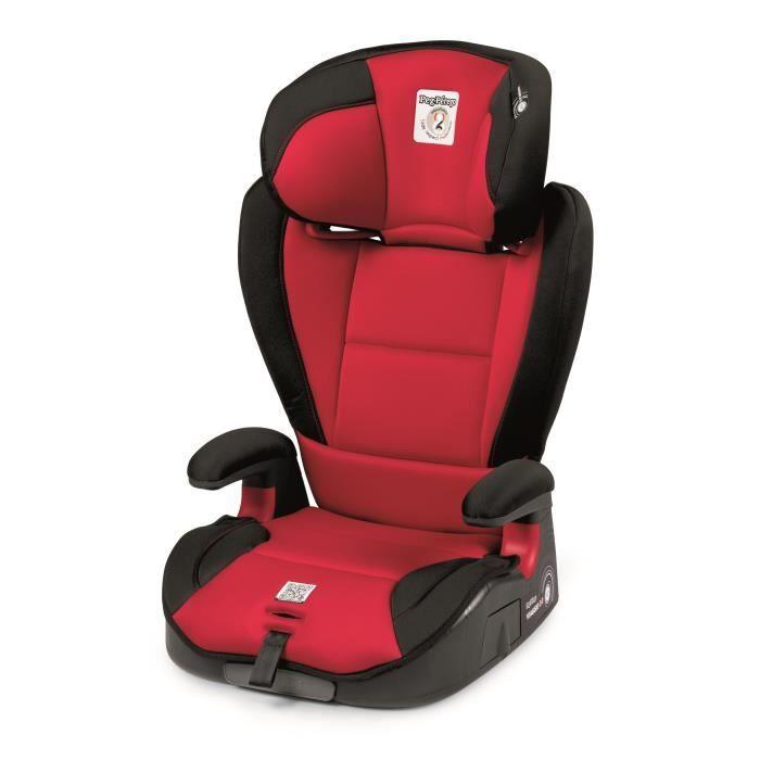 PEG PEREGO Siège auto Isofix Viaggio Surefix Groupe 2/3 - Rouge