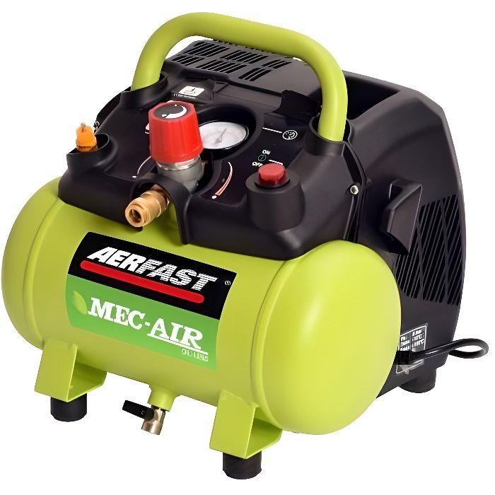 Aerfast MA06180 Compresseur d'air 8 bar, sans huile 180 l/mn