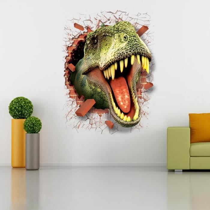 poster mural dinosaure achat vente poster mural. Black Bedroom Furniture Sets. Home Design Ideas