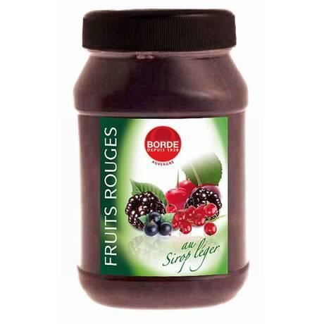 Borde fruits rouges au sirop l ger 1 l achat vente fruits au sirop borde fruits rouges au - Fruits au sirop maison ...