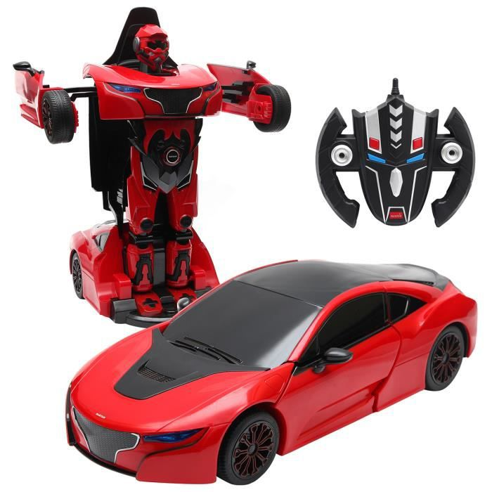 Nouveau Robot Transformer /& VOITURE 2 en 1 Robot courses VOITURE /& transformateur Ensemble