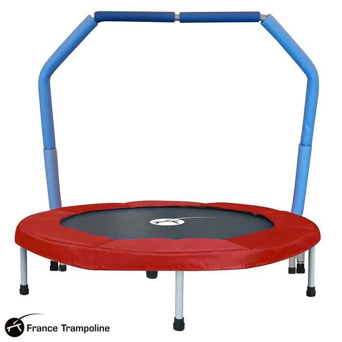 mini trampoline avec barre de maintien pour enfant prix. Black Bedroom Furniture Sets. Home Design Ideas
