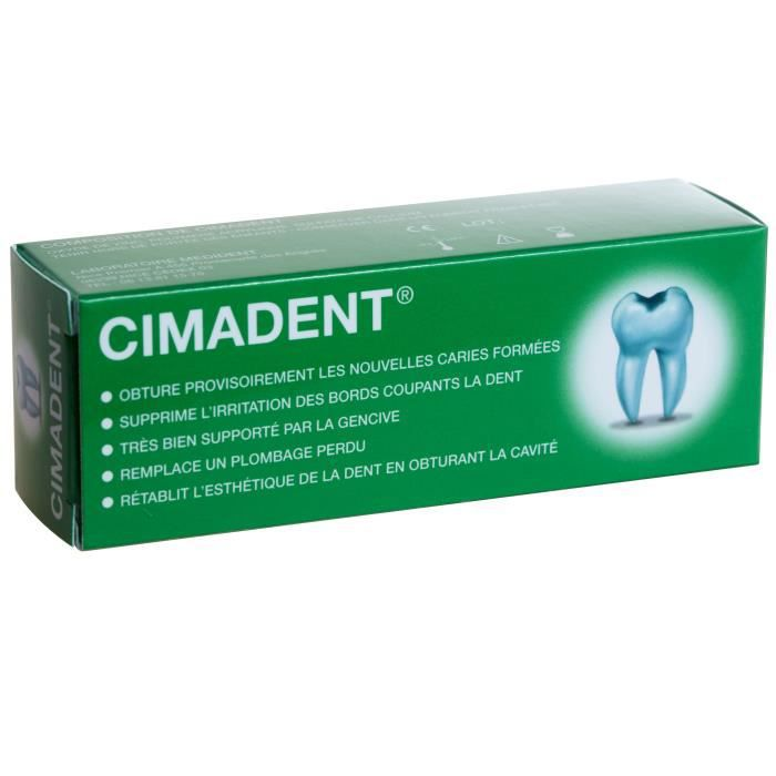 BAIN DE BOUCHE LABORATOIRE MEDIDENT Cimadent Pansement dentaire