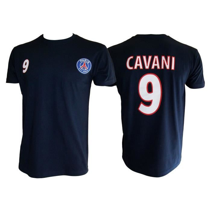 t shirt football paris saint germain cavani psg prix. Black Bedroom Furniture Sets. Home Design Ideas