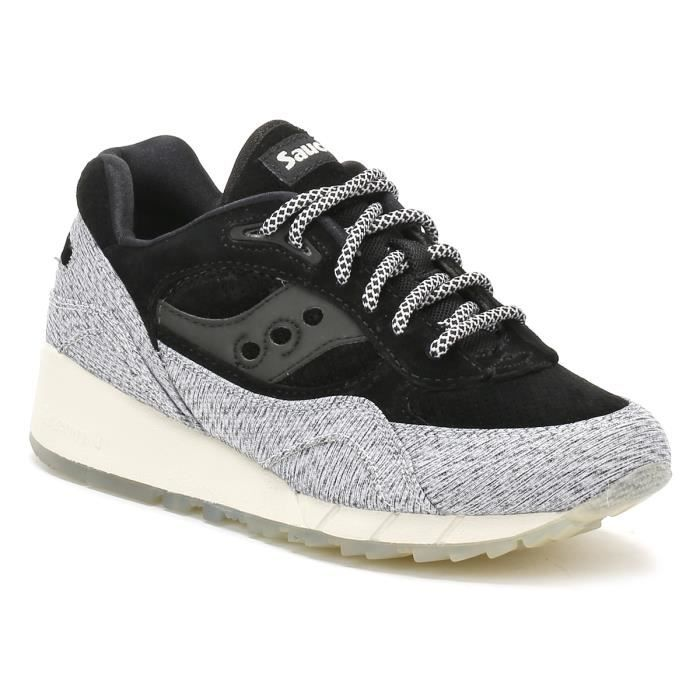 Saucony Noir/Gris Shadow 6000 Basket-UK 8 W3yQCMDEd