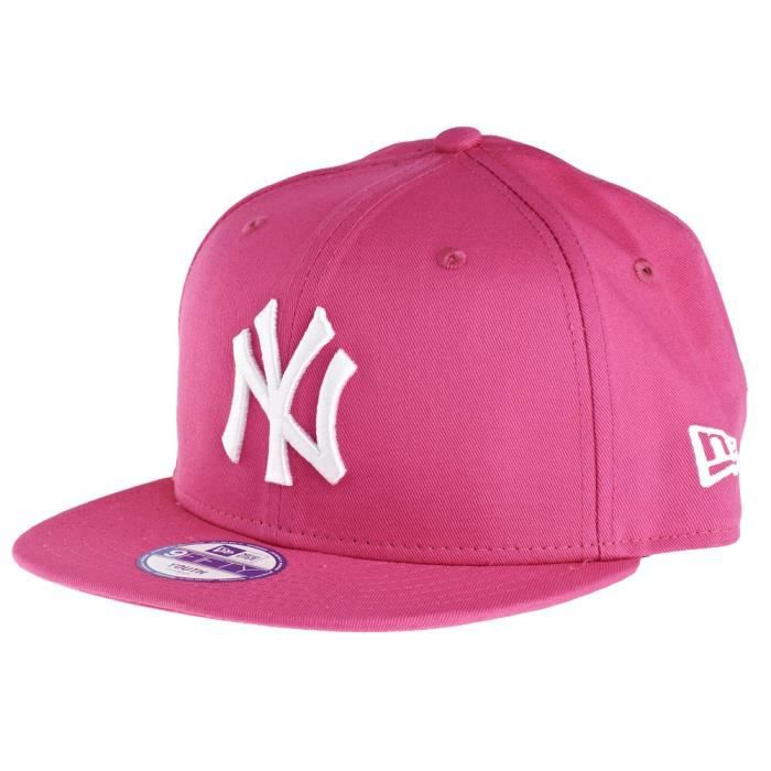 new era 9fifty snapback kids casquette ny yankee rose achat vente casquette 0885429051440. Black Bedroom Furniture Sets. Home Design Ideas