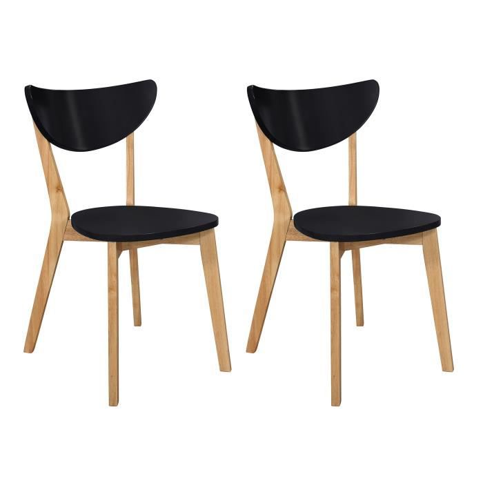 Chaises Scandinave-nature - Achat / Vente Chaises Scandinave ...