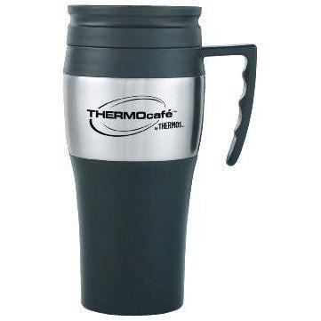 thermos thermocafe 2010 steel travel mug 0 4 litre achat vente bol mug mazagran cdiscount. Black Bedroom Furniture Sets. Home Design Ideas