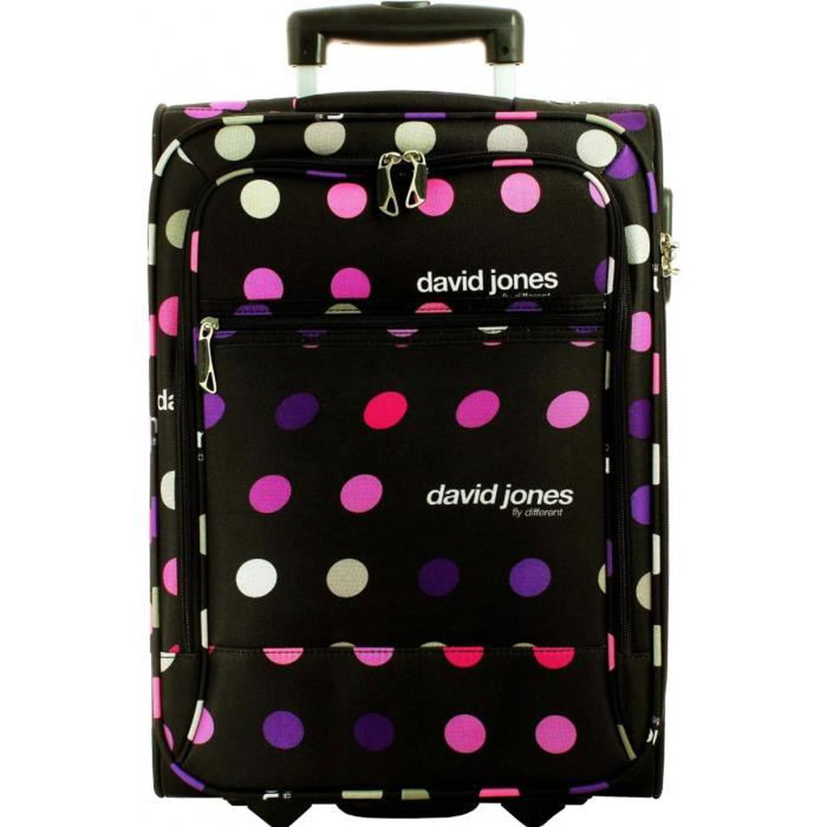 valise cabine ryanair david jones pois petits roses ba50261p achat vente valise bagage. Black Bedroom Furniture Sets. Home Design Ideas