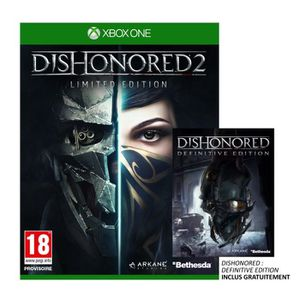 JEU XBOX ONE Dishonored 2 Limited Edition Jeu Xbox One