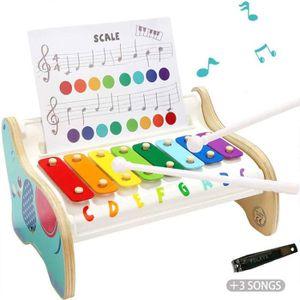 INSTRUMENT DE MUSIQUE Jouet Xylophone Musique pour Enfant 1 an,  Jouet M