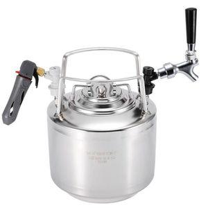KIT DE BRASSAGE BIÈRE Fût de bière en coke en acier inoxydable avec kit