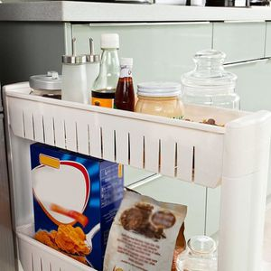 DESSERTE - BILLOT 3 Étagères de cuisine - Salle de bain - Stockage a