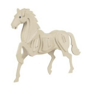PUZZLE Kit de construction-Puzzles 3D de modele de cheval