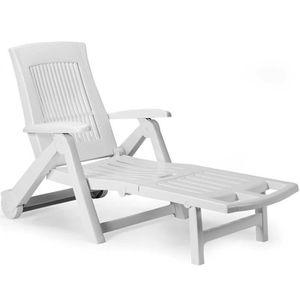 CHAISE LONGUE Chaise longue bain de soleil chaise longue de jard