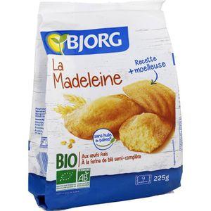 MADELEINES QUATRE QUART Bjorg La Madeleine 225g