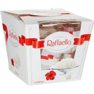 CONFISERIE DE CHOCOLAT RAFFAELLO Confetteria 18 Gaufrettes 180g