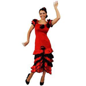 DÉGUISEMENT - PANOPLIE Costume robe de danse avec cette jupe à étages esp