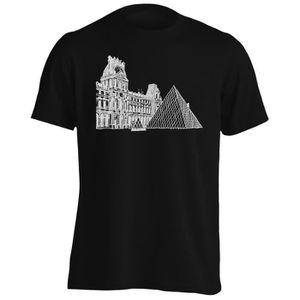 T-SHIRT T-shirt -Musée du Louvre Paris France Voyage Le Mo