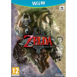 JEUX WII U The Legend of Zelda Twilight Princess HD Jeu Wii U