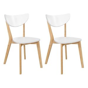 CHAISE SIMPLY Lot de 2 chaises de salle à manger design s