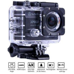 CAMÉRA SPORT TECTECTEC Caméra Sport Ultra HD XPRO2 - Noir