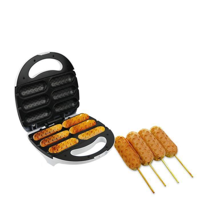 Machine à hot-dog - Machine à griller à saucisses - Machine à jambon de petit déjeuner - Machine à pain à saucisse électrique