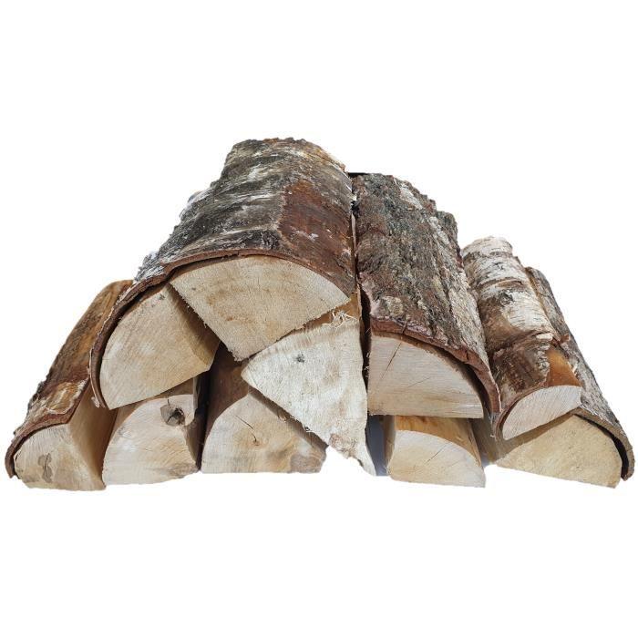 75 litres (28-30 kg) bois de chauffage de bouleau 25 cm Sec