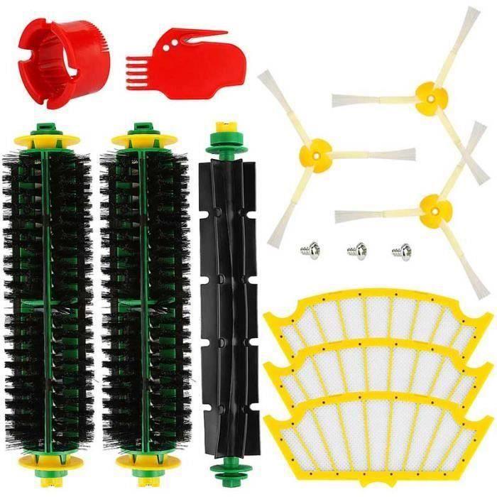 série 500 Remplacez votre aspirateur Accessoires pour iRobot série Roomba 500 532 552 Pièces de rechange pour filtre à brosse