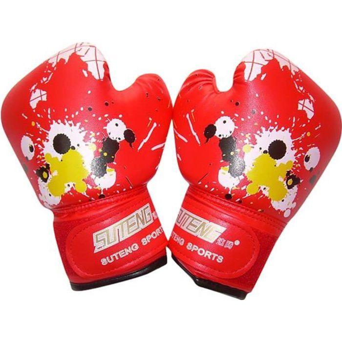 Gants de boxe de bande dessinée pour enfants Kickboxing Sac de boxe formation combat âge 3-10 @kinjgoki504