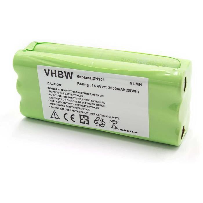 ASPIRATEUR BALAI vhbw NiMH batterie 2000mAh 144V pour robot aspirateur Home Cleaner robots domestiques Dirt Devil M610 M611 M612470